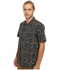 Obey Riveria Short Sleeve Woven M Black Multi