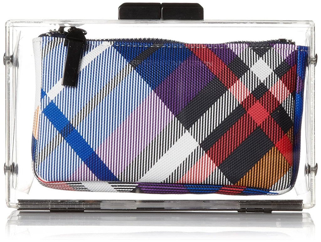 French Connection Sportivo Crystal Clear Clutch