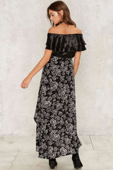 Nasty Gal Collection What a View Maxi Skirt M