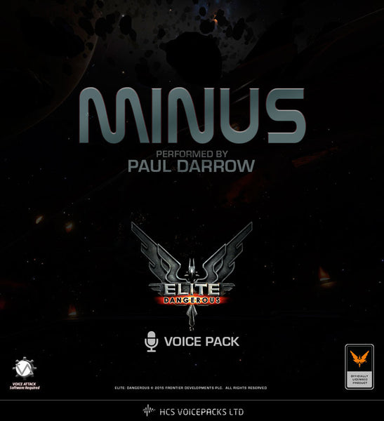 MinuS - Performed by Paul Darrow