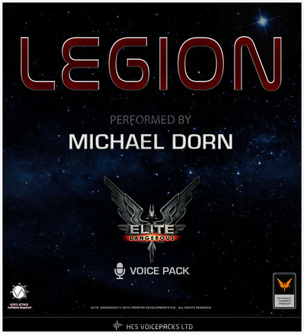 LEGION - Performed by Michael Dorn