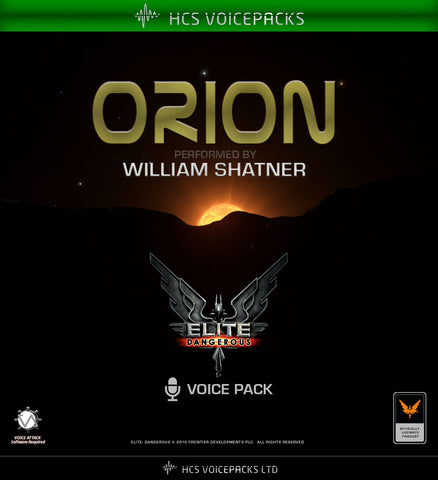 Orion - Performed by William Shatner
