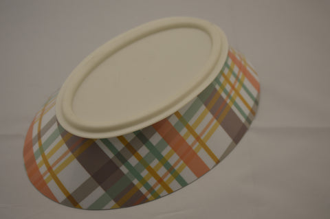 Poochie Plaid - Poochie Bowl Designer Collection