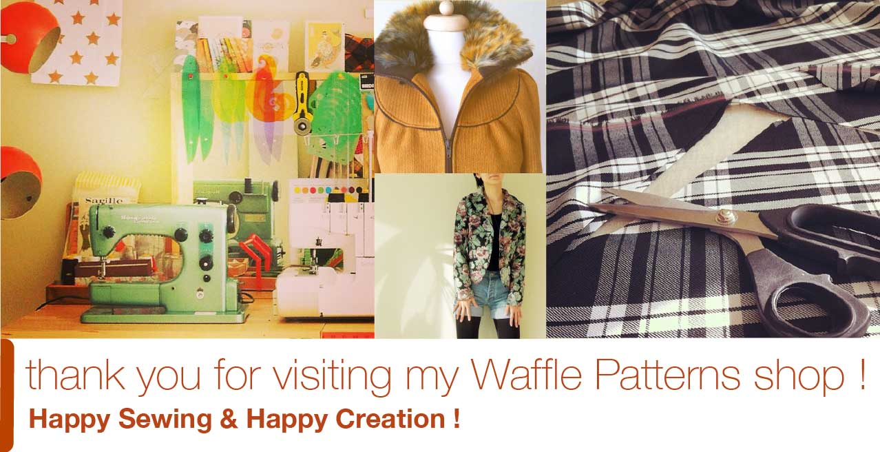 pdf sewing pattern waffle patterns