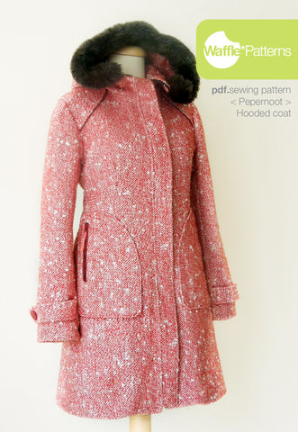 Hooded Coat -Pepernoot-  (size 34-48)