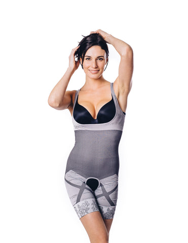 Natural Charcoal Bamboo Slimming & Compression Suit