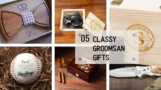 Unique but Classy Groomsman Gifts