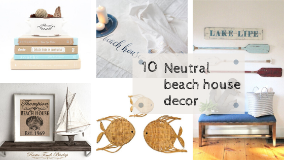 Neutral Beach Decor