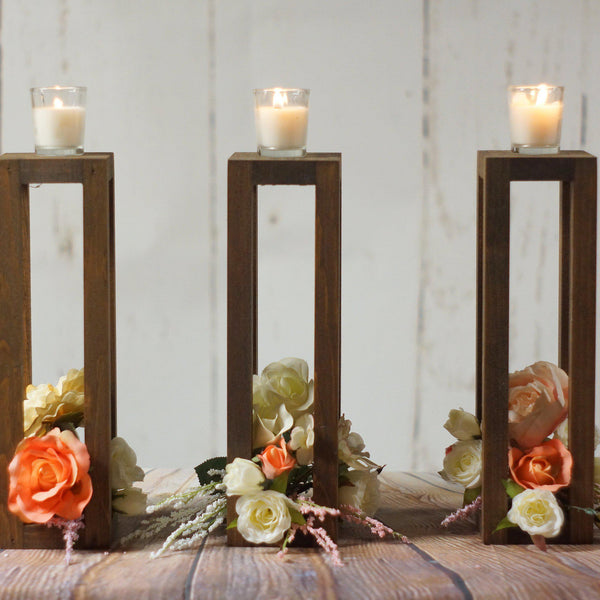 "Lantern set of 3, 12""-Wedding-GFT Woodcraft"