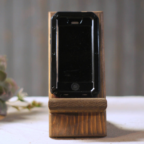 Cell Phone Stand, Iphone Stand,-HOME DECOR-GFT Woodcraft