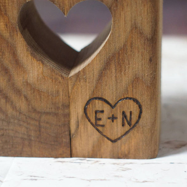 Custom Candle Holder, Personalized Gift-Candle Holders-GFT Woodcraft