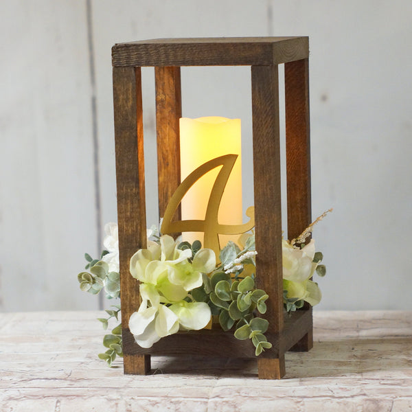 6 Bulk Wedding Lantern Centerpiece-LANTERN-GFT Woodcraft