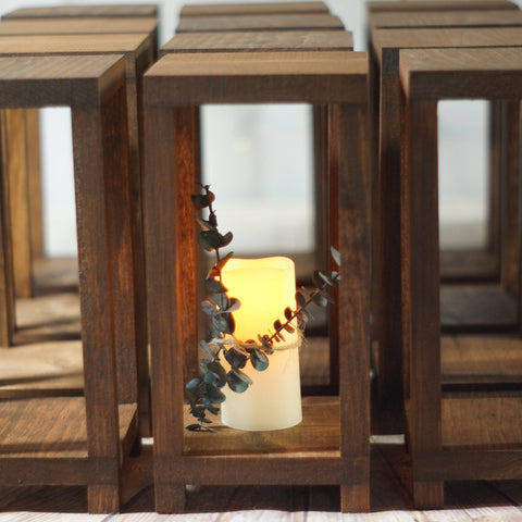 20 Bulk Wedding Lantern Centerpiece-LANTERN-GFT Woodcraft
