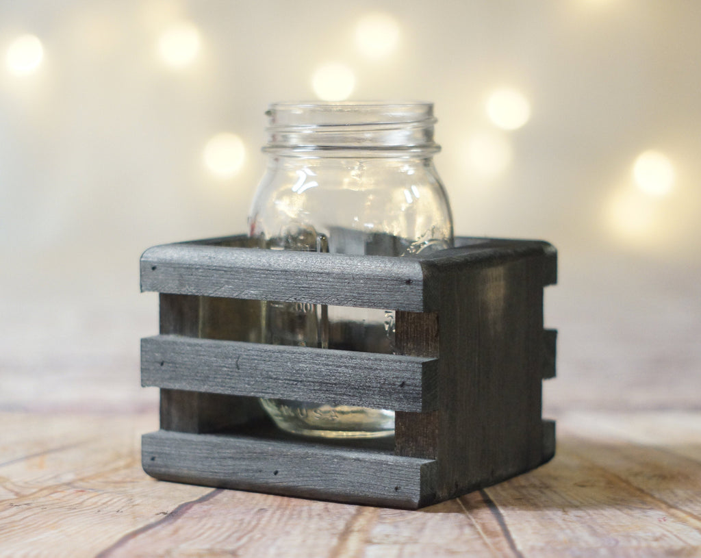 6 Wood Box Centerpieces, Wishing Well Basket-Wedding-GFT Woodcraft