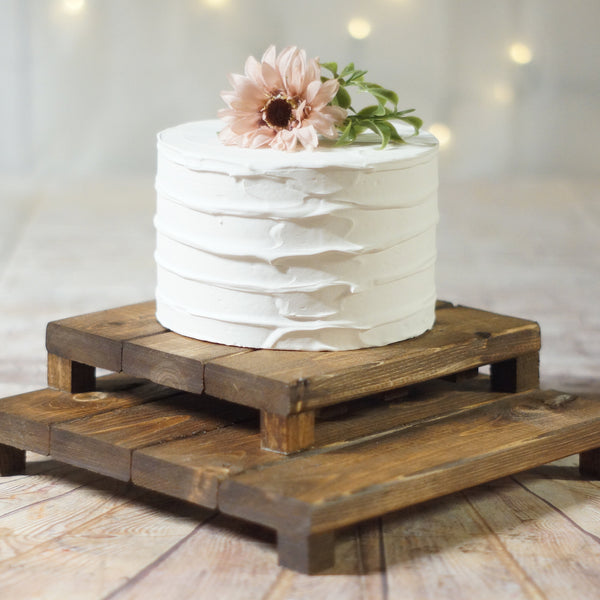 Cake Risers, Set of 2-Wedding-GFT Woodcraft