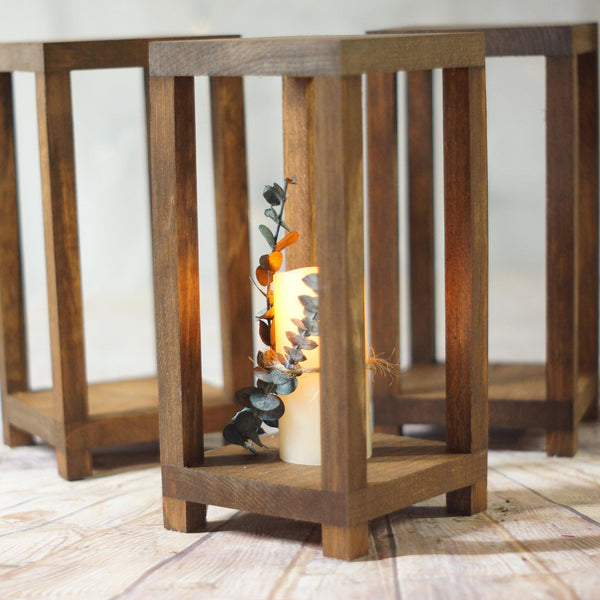 15 Bulk Wedding Lantern Centerpiece-LANTERN-GFT Woodcraft