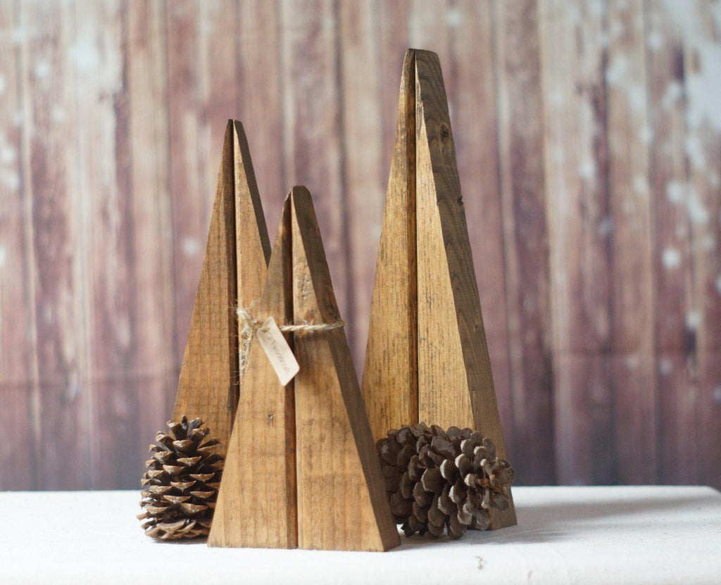 Reclaimed Wood Trees-Home Decor-GFT Woodcraft