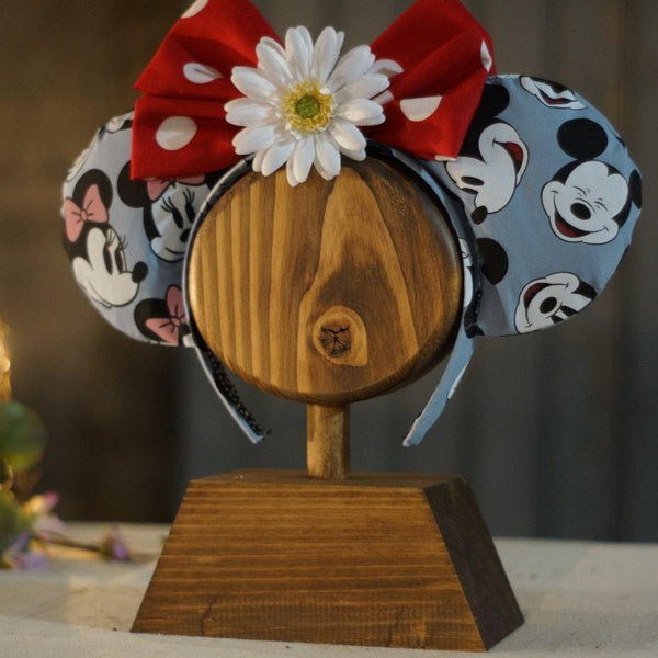 Single Headband Display, mouse ears holder-GIFTS-GFT Woodcraft