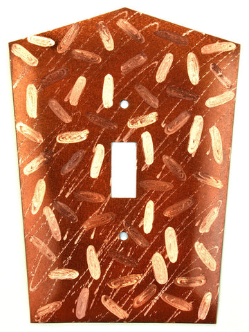 Metal Switch Cover. Penny Copper, Jellybeans. Sealed. Screws