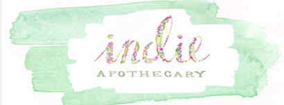 Indie apothecary logo