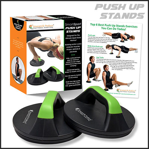 SmartSport Rotating Push Up Stands