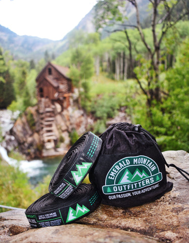 Emerald Mountain Hammock Straps