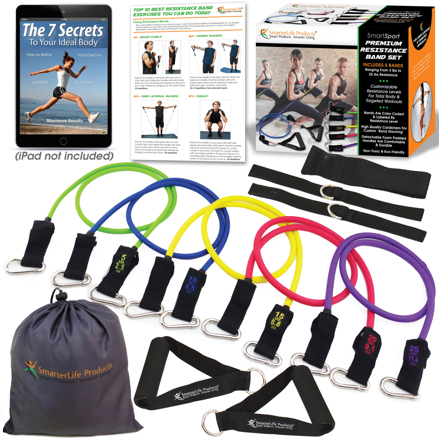 SmarterLife Resistance Tube Bands