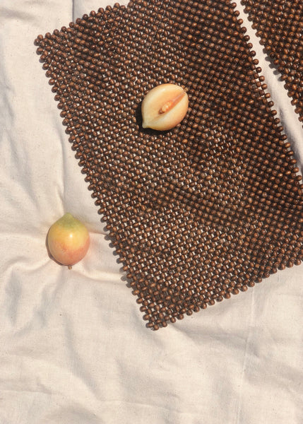 Wood Bead Placemats