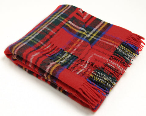 Tweedmill Tartan Throw Blanket - Pure New Wool (Royal Stewart)