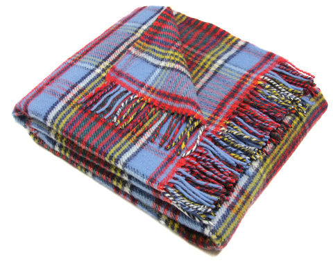 Tweedmill Tartan Throw Blanket - Pure New Wool (Anderson)