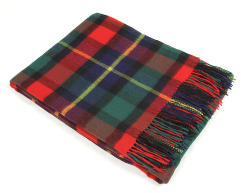 Tweedmill Tartan Throw Blanket - Lambswool (Kilgour)