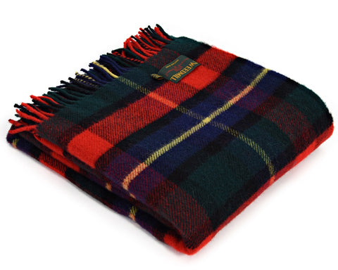 Tweedmill Tartan Throw Blanket - Pure New Wool (Kilgour)