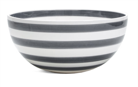 Kahler Omaggio Ceramic Serving Bowl - Large 300mm (11.8 In.) (Gray)