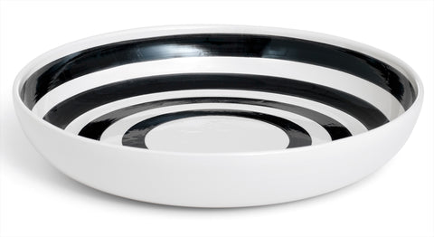 Kahler Omaggio Ceramic Serving Dish - 300mm (11.8 In.) (Black)