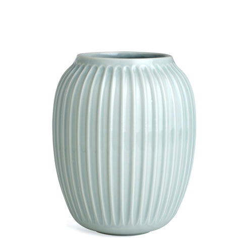 Kahler Hammershoi - Medium Large Ceramic Vase - Mint (Light Green)