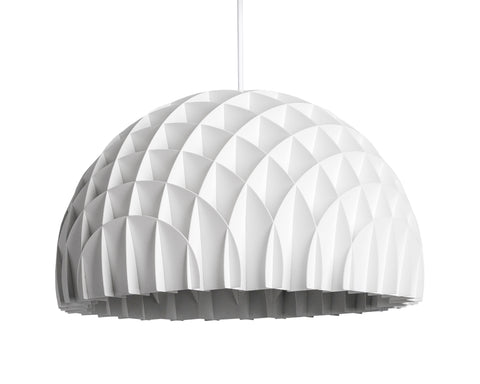 Modern Danish Design Pendant Light by LAWA Design - 16 In. (White)