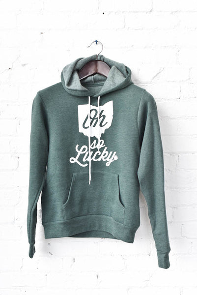 OH SO LUCKY adult unisex hooded sweatshirt