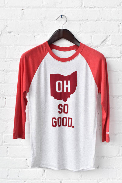 OH SO GOOD. Unisex Raglan