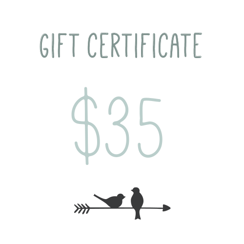 Gift Certificate $35