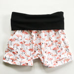 Flamingo Romper Shorts