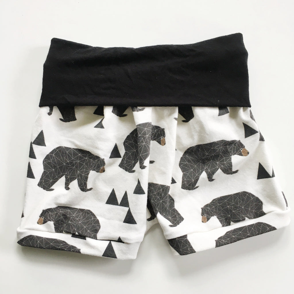 Bear Romper Shorts