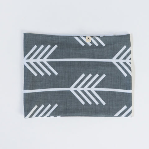 Grey Arrows Infinity Scarf