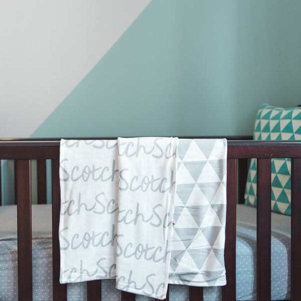 Organic Cotton Personalized Blankets