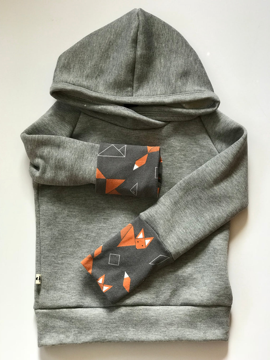 Light Grey Bamboo Fleece Back Zip Hoodie