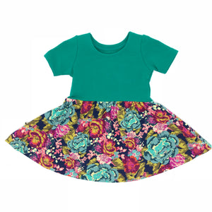 Swing Dress - Retro Flower
