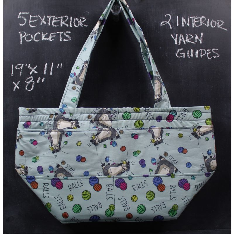 Barrel Tote Bag In Larry Balls Tote