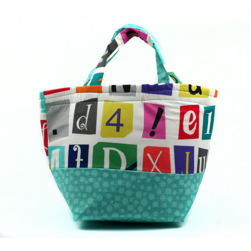 Bucket Bag In Ransom Letters Tote