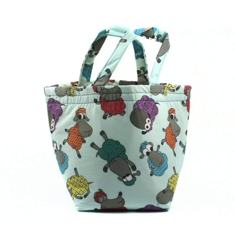 Bucket Bag In Stitchy Sheeple Tote