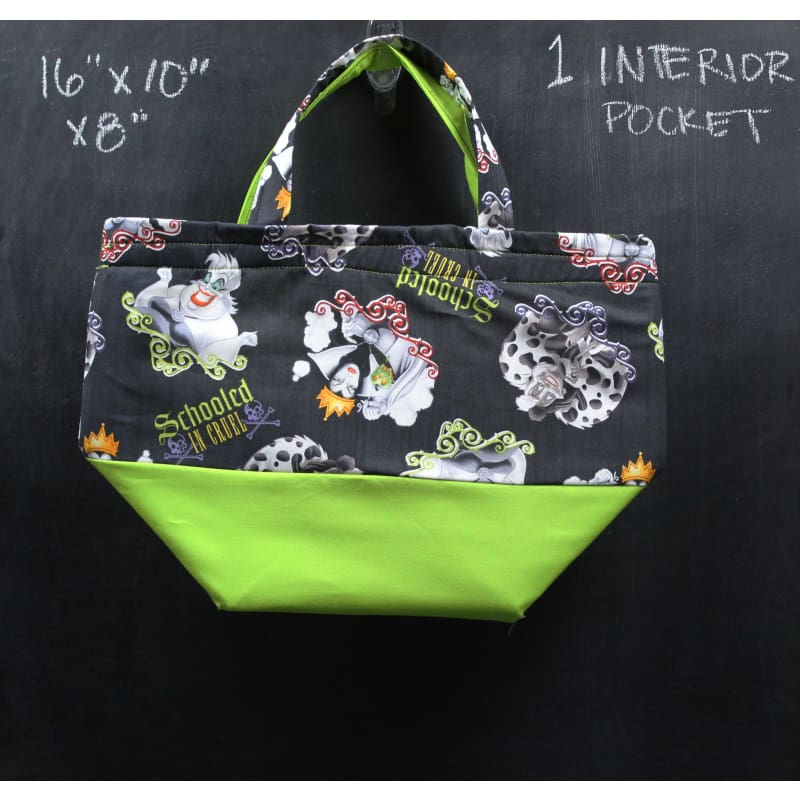 Bucket Tote Bag In Schooled In Cruel Tote