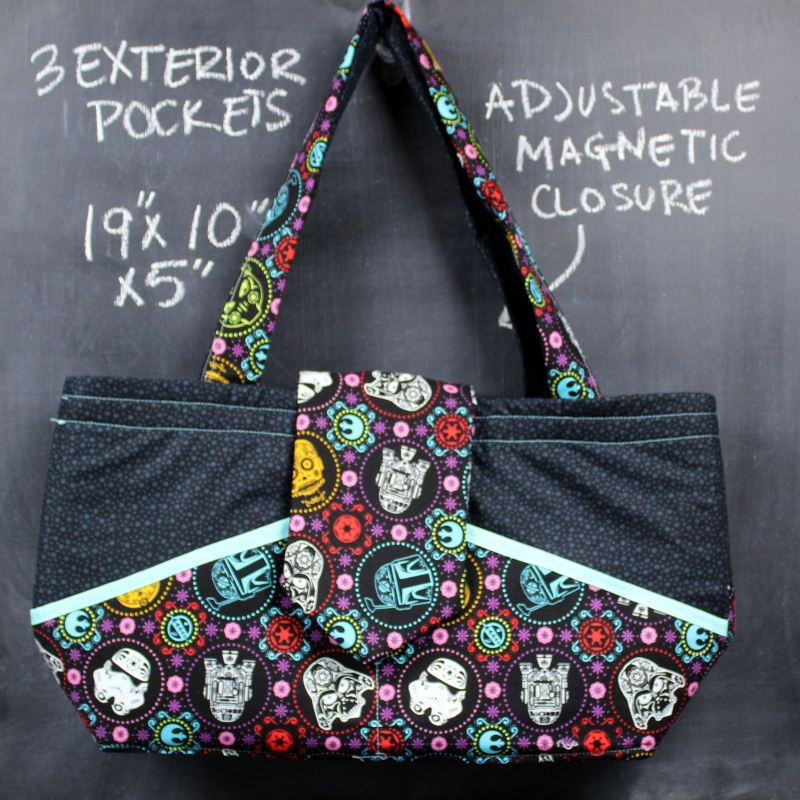 Ewesful Tote Bag In Star Wars Sugar Skulls Tote